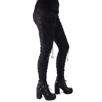 pants women (leggings) Devil Fashion - Gothic Radella, DEVIL FASHION