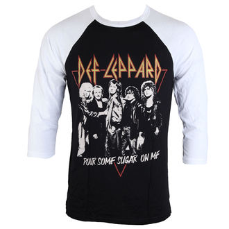 t-shirt metal men's Def Leppard - POURING SUGAR - LIVE NATION, LIVE NATION, Def Leppard
