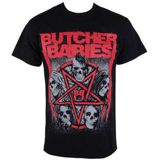 t-shirt metal men's Butcher Babies - STAR SKULL - RAZAMATAZ - ST2041