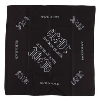 kerchief AC / DC - BACK IN BLACK - RAZAMATAZ - B048