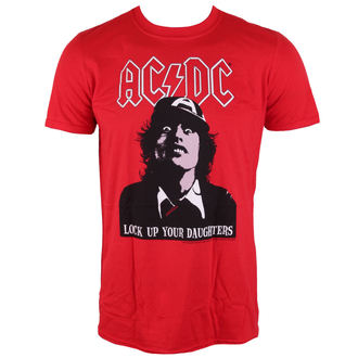 t-shirt metal men's AC-DC - LOCK UP YOUR DAUGHTERS - LIVE NATION, LIVE NATION, AC-DC