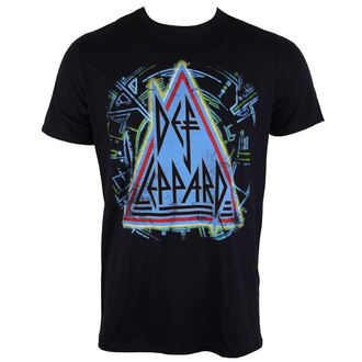 t-shirt metal men's Def Leppard - HYSTERIA - LIVE NATION, LIVE NATION, Def Leppard