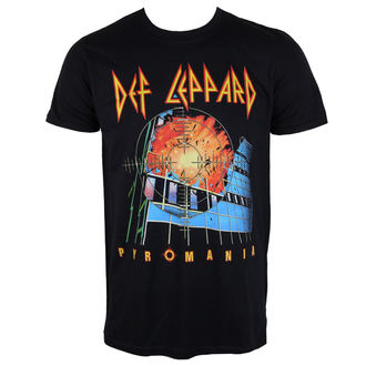 t-shirt metal men's Def Leppard - Pyromania - PLASTIC HEAD, PLASTIC HEAD, Def Leppard