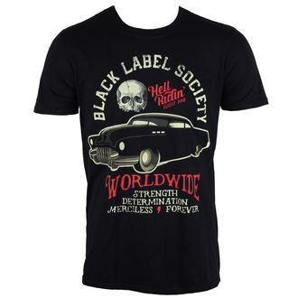 t-shirt metal men's Black Label Society - Riding Hot Rod - PLASTIC HEAD, PLASTIC HEAD, Black Label Society