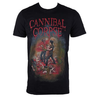 t-shirt metal men's Cannibal Corpse - Chainsaw - PLASTIC HEAD, PLASTIC HEAD, Cannibal Corpse
