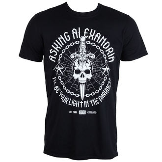 t-shirt metal men's Asking Alexandria - Light In The Darkness - PLASTIC HEAD - PH9858