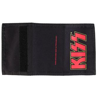 wallet KISS - Logo - Black - PLASTIC HEAD, PLASTIC HEAD, Kiss