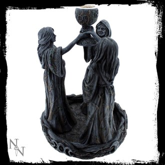 decoration (candlestick) Mother Maiden & Crone Backflow - NENOW, Nemesis now