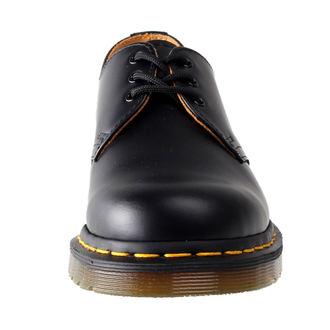 boots Dr. Martens - 3 eyelet - Black Smooth, Dr. Martens
