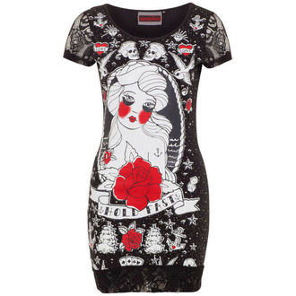dress women JAWBREAKER - Black / Red Rose, JAWBREAKER