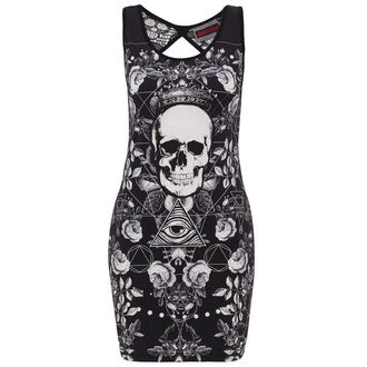 dress women JAWBREAKER - Black / Wht Skull, JAWBREAKER