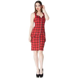 dress women JAWBREAKER - Black / Red Plaid Skulls, JAWBREAKER