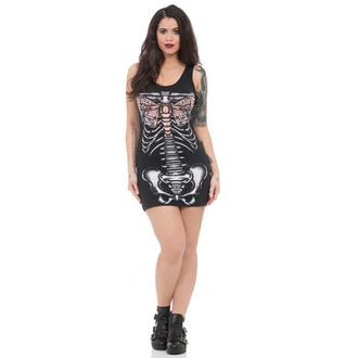 dress women JAWBREAKER - blck Ribcage, JAWBREAKER