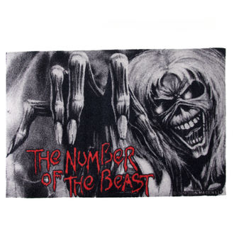 doormat Iron Maiden - Number of the Beast - ROCKBITES, Rockbites, Iron Maiden
