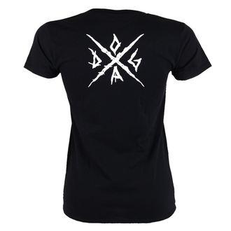 t-shirt metal women's Doga - Black -, Doga