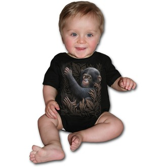 children's body SPIRAL - Monkey Business - Black, SPIRAL