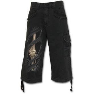 shorts men SPIRAL - Bone Rips - Black, SPIRAL