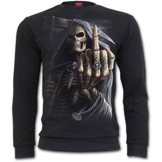 sweatshirt (no hood) men's - Bone Finger - SPIRAL - M005M401