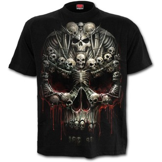 t-shirt men's - Death Bones - SPIRAL - T126M101