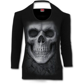 t-shirt women's - Solemn Skull - SPIRAL - S012F458