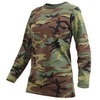 t-shirt women's - WOODLAND CAMO - ROTHCO, ROTHCO