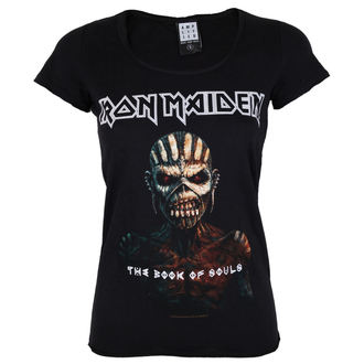t-shirt metal women's Iron Maiden - BOOK OF SOULS - AMPLIFIED, AMPLIFIED, Iron Maiden