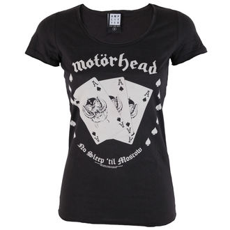 t-shirt metal women's Motörhead - Ace - AMPLIFIED - AV601ACA