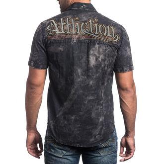 shirt men AFFLICTION - No Rival - BK, AFFLICTION