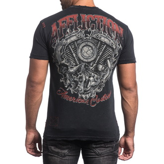 t-shirt hardcore men's - Overheat - AFFLICTION, AFFLICTION