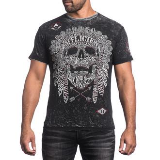 t-shirt hardcore men's - Native Tongue - AFFLICTION, AFFLICTION