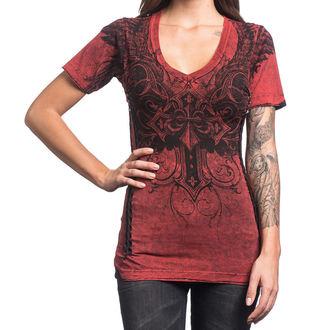 t-shirt hardcore women's - Debonair - AFFLICTION, AFFLICTION