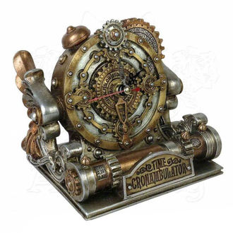 clock (decoration) ALCHEMY GOTHIC - Time Chronambulator - V26