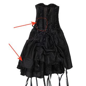 dress women Burlesque - Black - DAMAGED