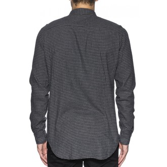 shirt men GLOBE - Barkly LS - Grey Marle, GLOBE