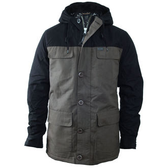 winter jacket men's - Goodstock Blocked Parka - GLOBE, GLOBE