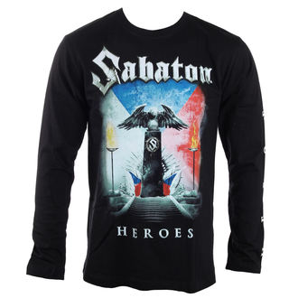 t-shirt men with long sleeve Sabaton - Heroes Czech republic - Carton, CARTON, Sabaton