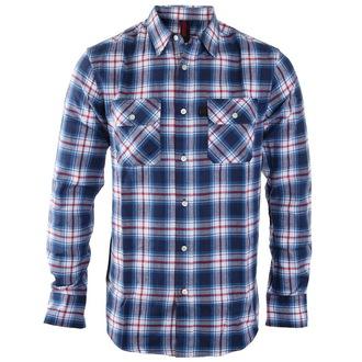 shirt men INDEPENDENT - Faction Blue Check, INDEPENDENT