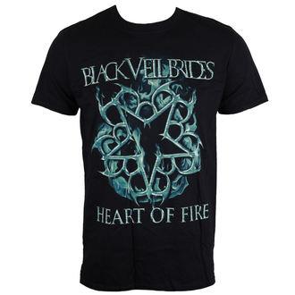 t-shirt metal men's Black Veil Brides - Heart Of Fire - LIVE NATION, LIVE NATION, Black Veil Brides