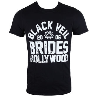 t-shirt metal men's Black Veil Brides - Hollywood - LIVE NATION, LIVE NATION, Black Veil Brides