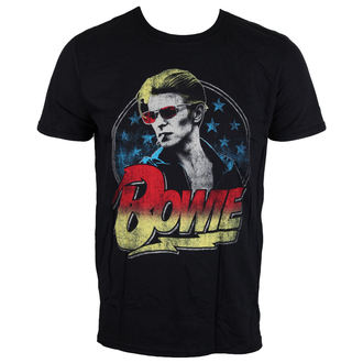 t-shirt metal men's David Bowie - Smoking - LIVE NATION, LIVE NATION, David Bowie