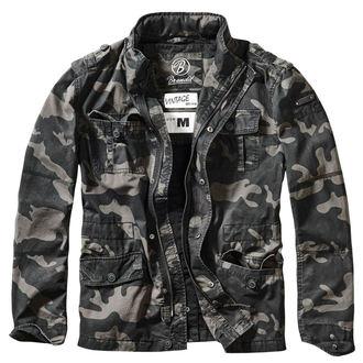 spring/fall jacket men's - Britannia - BRANDIT - 3116-darkcamo