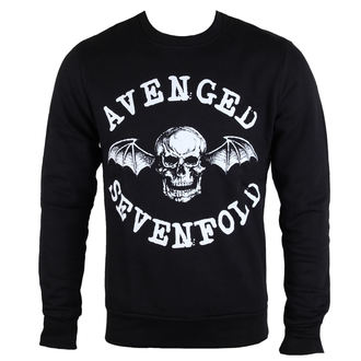 sweatshirt (no hood) men's Avenged Sevenfold - Classic Deathbat - ROCK OFF, ROCK OFF, Avenged Sevenfold