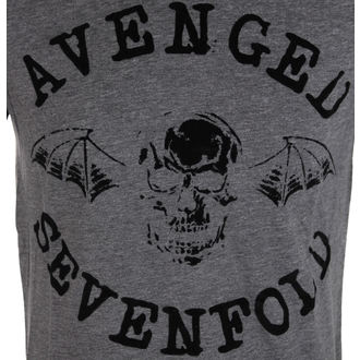 t-shirt metal men's Avenged Sevenfold - Classic Deathbat Acid Wash - ROCK OFF, ROCK OFF, Avenged Sevenfold