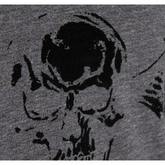 t-shirt metal men's Avenged Sevenfold - Classic Deathbat Acid Wash - ROCK OFF - ASTS19MG