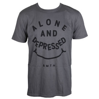 t-shirt metal men's Bring Me The Horizon - Alone And Depressed - ROCK OFF - BMTHTS44MC