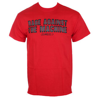 t-shirt metal men's Rage against the machine - Smashed Red -, Rage against the machine