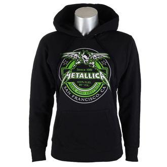 hoodie women's Metallica - Fuel Black - NNM
