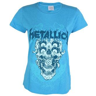 t-shirt metal women's Metallica - Double Skull -, Metallica