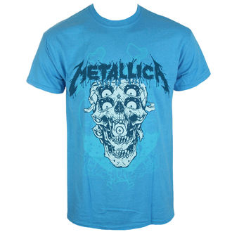 t-shirt metal men's Metallica - Double Skull -, Metallica