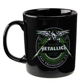 cup Metallica - Fuel Black - ATMOSPHERE, NNM, Metallica